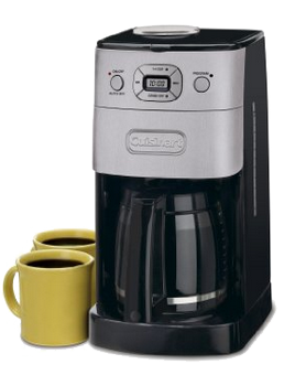 Cuisinart DGB-625BC Grind-and-Brew 12-Cup Automatic Coffeemaker - One of the best grind and brew coffee maker you can trust.