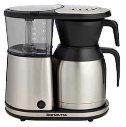 Bonavita BV1900TS 8-Cup Carafe Coffee Brewer - Recognized and certified by SCAA