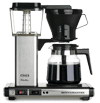 SCAA certified moccamaster kb 741 10 cup coffee brewer with glass carafe