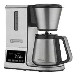Cuisinart CPO-850 Pour Over Coffee Brewer Thermal Carafe, Stainless Steel - SCAA certified coffee brewer